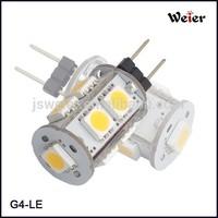 Base G4 smd led 12V DC/AC 1.5W