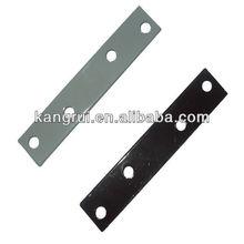 Hardware Metal Bracket Wood Connector Lightweight Flat Strap (L)80mm x (W)15mm x (T)2mm ironmongery Joinery