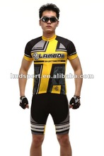 2012 new Lambda jersey and padded shorts for cycling