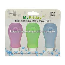 2012 1 oz Travel bottle silicone bottles