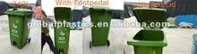 1090*740*600mm Plastic Pedal Wheelie Bins Waste Bins100% Imported New HDPE/Contentor/lixeira de 240 litros com roda