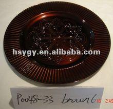 "13"" Plastic Plate"