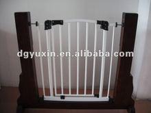 Auto close expandable pet dog gates iron doors