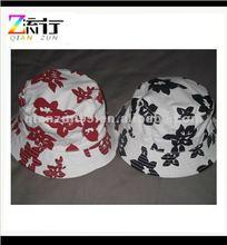 2014 new design printed bush hat floppy bucket hat