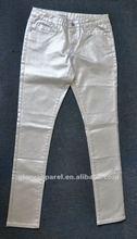 Office ladies pants cotton fashion design 2012
