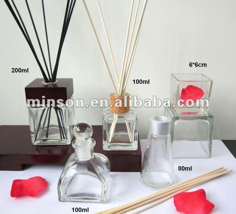 Various Glass Bottle Air Freshener for Home Fragrance Reed Diffuser