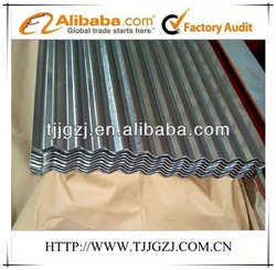 zinc roofing material corrugated
