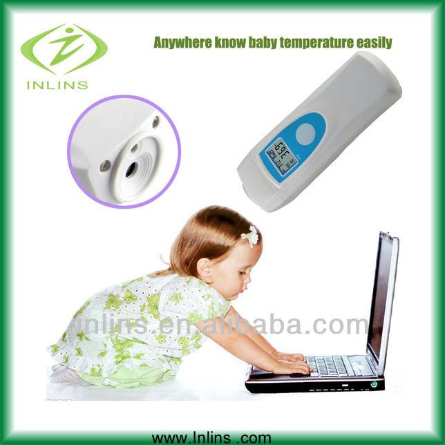 thermomètre numérique de corps humain de soins de santé