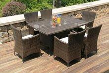 2012 Rattan classic dining furniture (HB21.9117)