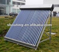 evacuated glass tube solar collector