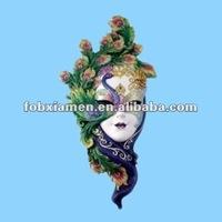 Ornate Polyresin Mask Wall Decoration