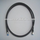 RF cable assembly N male for RG214