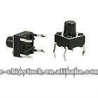 4 Pin Momentary Push Button Microswtich Tact Switch 6 x 6 x 7mm