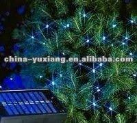 led christmas tree light string/christmas decoration