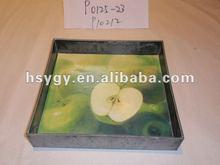 Square Plastic Craft Tray