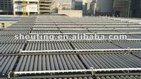 unpressurized evacuated tubes solar collector