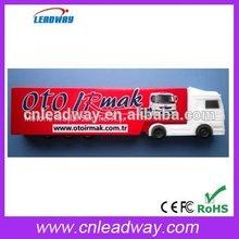 Promotional gift plastic truck shape pen drive