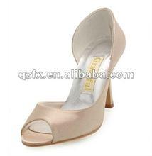 Custom Made Women High Heel ivory wedding shoes