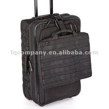 Military rolling duffle bag trolley bag