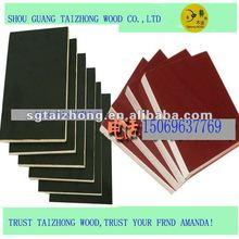 Brown/Black Pine Core Phenolic Film Faced Plywood