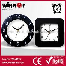 Cheap Mini Square Plastic Table Alarm Clock