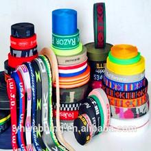 custom high quality jacquard elastic polyester webbing strap