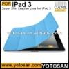 For iPad 3 iPad3 Smart Cover Case