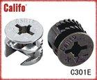 Zinc alloy furniture cam & cabinet door cam/mini fix #C301E