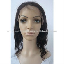 Best selling 12 inch curly human hair full lace wig