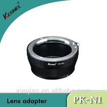 Kernel Lens Mount Camera Adapter Ring Pentax PK K lens to Nikon 1 N1 J1 V1, lens mount adapter