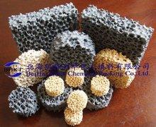 Refining filter ceramic foam filter