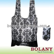 promotion printed foldable nylon bag / shopping bag PT008-009