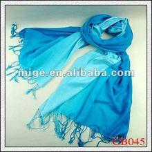 2012 Fashion 100% Blue Cashmere Scarf(GB045)