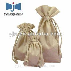 cotton linen drawstring bag for packaging