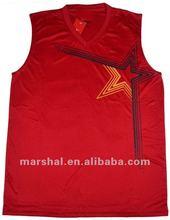 OEM high quality basketball uniform design for men