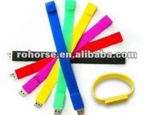 Wristband USB Flash Pen Drive Memory Stick 8GB -medical alert bracelet usb flash drive