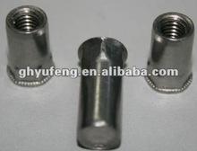 copper rivets nut SMALL HEAD FULL-HEXAGONAL BODY CLOSED END;