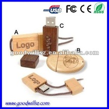 2015Wooden USB 2.0 driver, bulk 1gb usb flash drives