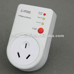 voltage protector JL-VP3000 AU type socket 220V 50HZ 10A with C-start button