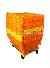 Plastic crate dollies