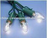 C7 string light/hanging decorative tree lamp/Christmas decoration light set