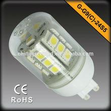 high bright G9 led bulb/led lamp/led light
