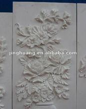 yellow wooden sandstone carving, murals relief