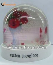 Rose Snow Globe, Valentine's Day Gift Items