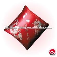 Silk Thicken Gold Printing Cushion
