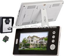 7 inch Wireless video door phone for 2 flats(1 in 2)