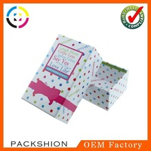 Graceful Paper Jewellery & Gift Box Packaging with OEM Design