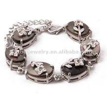 Hotsale magnetic diamond design shell bracelet
