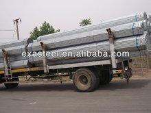 Prime quality low carbon Q235B GAL Steel Pipe/ Tube
