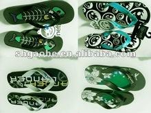 Ladies' soft Slipper / Women's Eva fashion slipper / Velvet Hotel Slippers